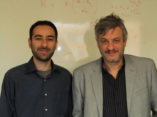 Mehdi Ansari-Rad and JB