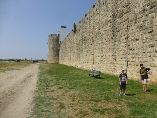 City walls at Aigues Mortes