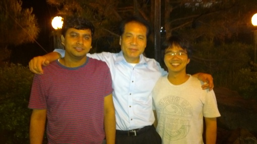 Tarak Nath Mandal, Sang il Seok and Yong Chan Choi