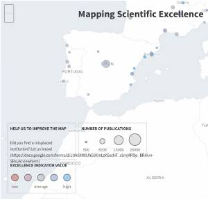 Mapping Scientific Excellence